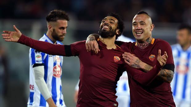 Memushaj asiston, Pescara në Serie B