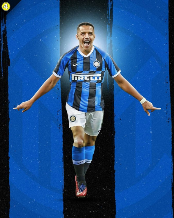 Alexis Sanchez te Inter