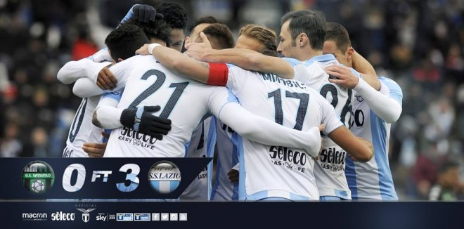 Strakosha s'mposhtet, Lazio fiton