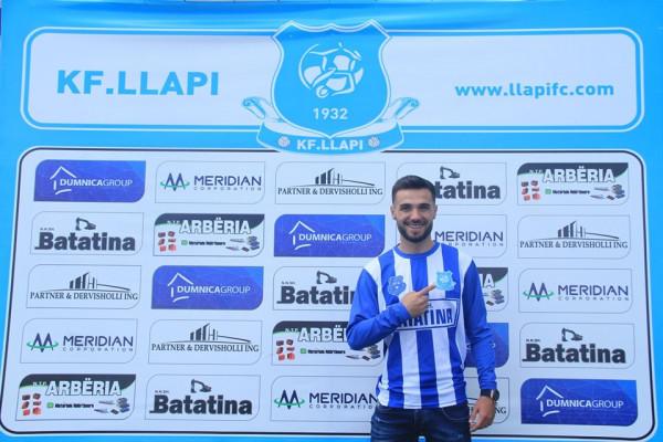 Kastriot Selmani kontratë 3 vjeçare me Llapin