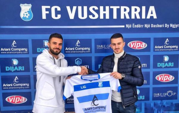 Vushtrria huazon lojtarin e Prishtinës