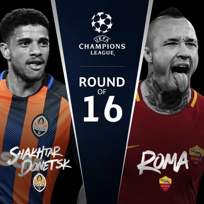 Shakhtar vs. Roma, formacionet startuese