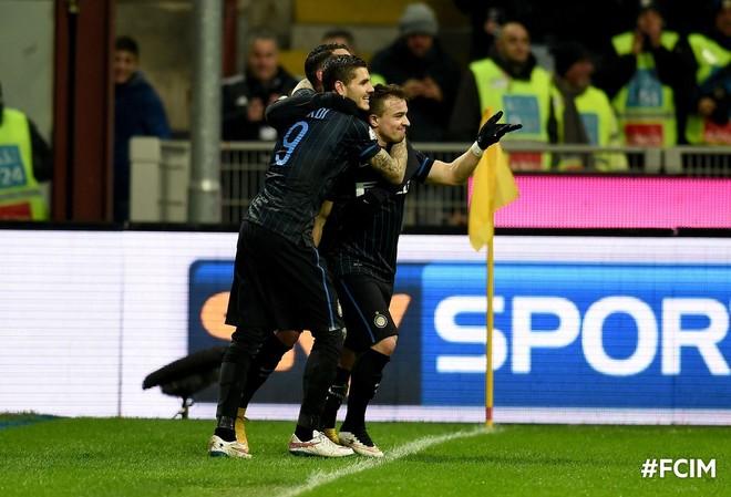 Shaqiri me gol, Inter kualifikohet