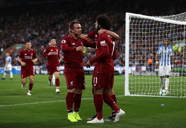 Shaqiri asist, Salah për fitore