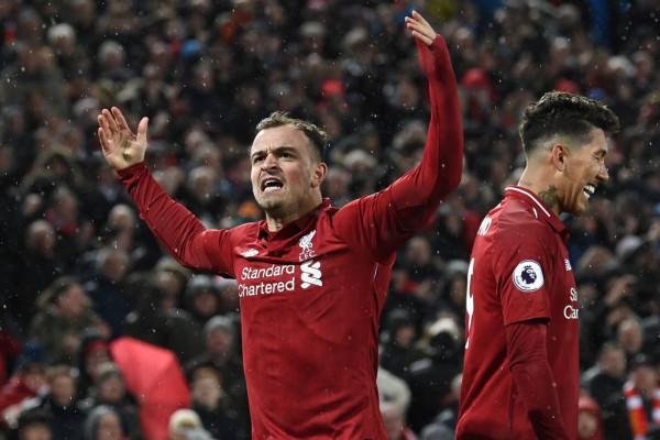 Shaqiri show, Liverpool fiton derbin dhe rikthen kreun