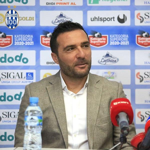 Tirana zytarizon Orges Shehin si trajner të ri