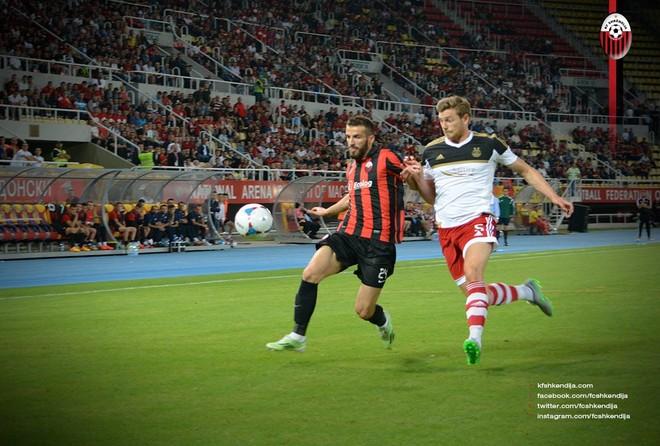 Hasani pezullohet për dy ndeshje