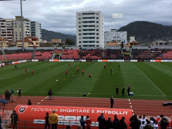 Interesim i vogël për ndeshjen e Shqipërisë