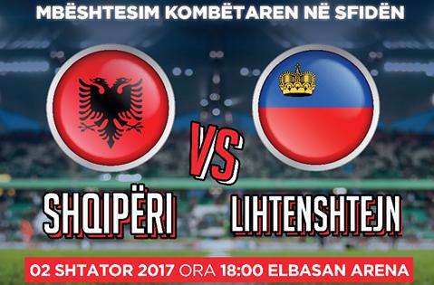 Shqipëri - Lihtenshtajn, fillon shitja e biletave