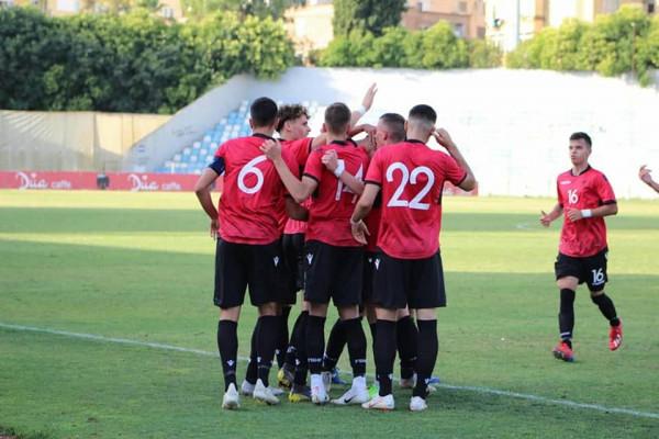 Shkëlqen Broja, Shqipëria U21 mposht Uellsin