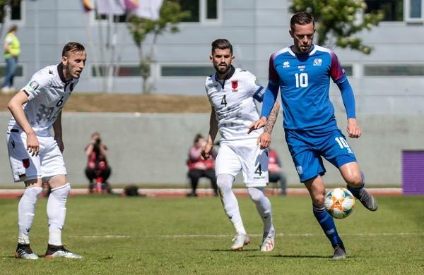 Shqipëria vs. Islanda, 11-shet startuese