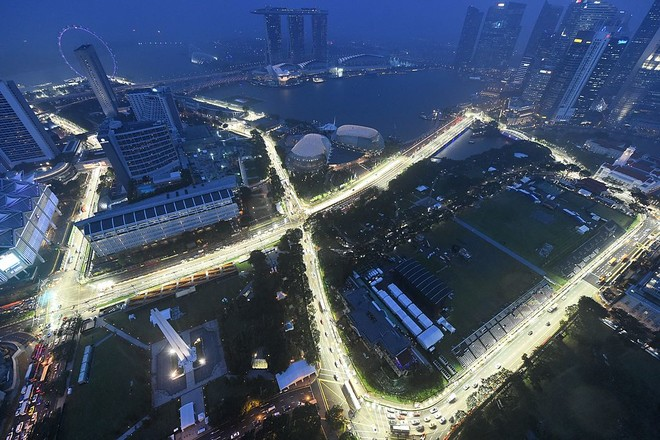 Spektakli në Singapur