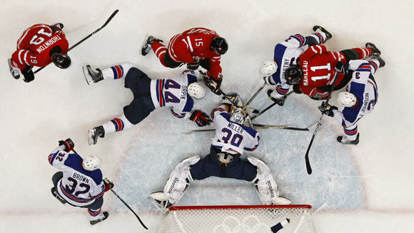 Abetare Olimpike: Hokej mbi akull