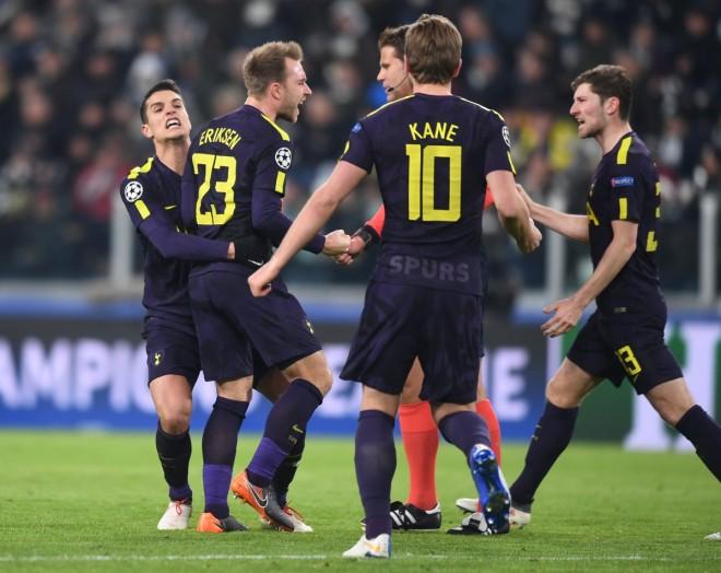 Dominim anglez në Torino, Tottenhami në avantazh