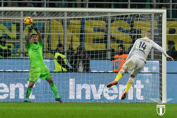 Strakosha çon Lazion në gj'finale