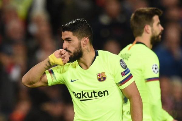 Suarez vendos, Barcelona në avantazh