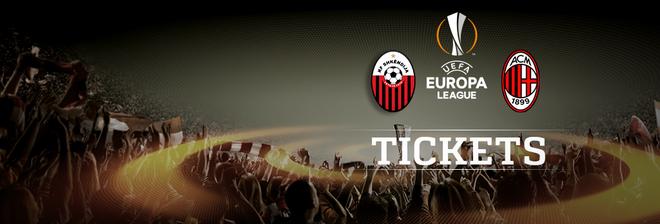 Shkëndija - Milan, biletat në shitje