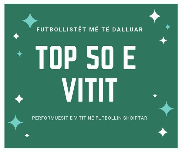 TOP 50-shja e vitit 2018