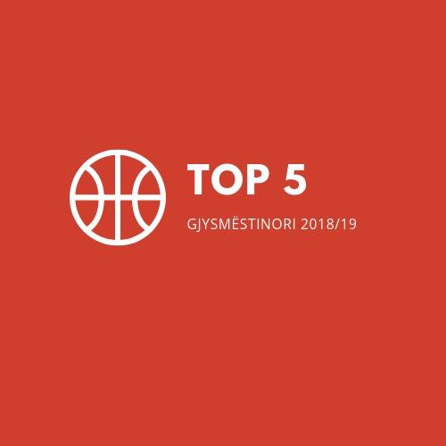 TOP 5 e gjysmëstinorit në Superligë 18/19