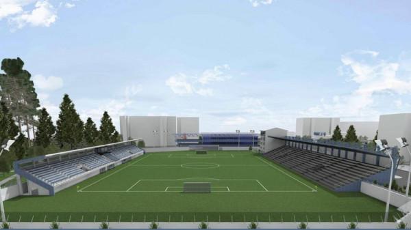 Stadiumi i Shkupit me tribunë të re