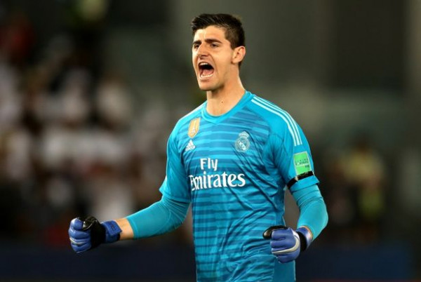 Courtois heroi i Real Madridit