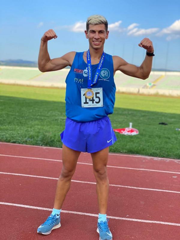 Tirron Mamusha, kampion i Kosovës në 5000m