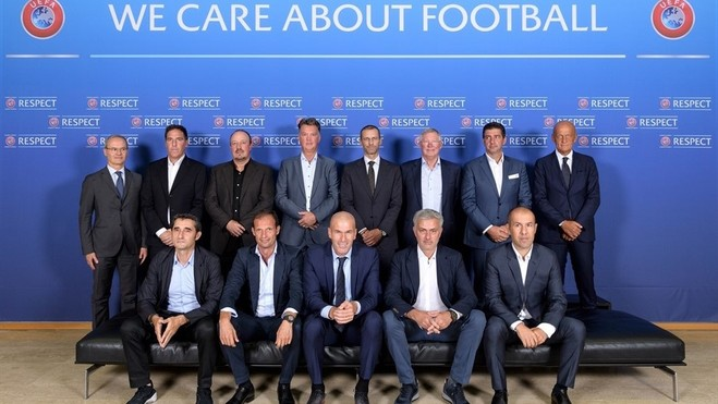Trajnerët e nivelit të lartë, ndajnë idetë me UEFA-në