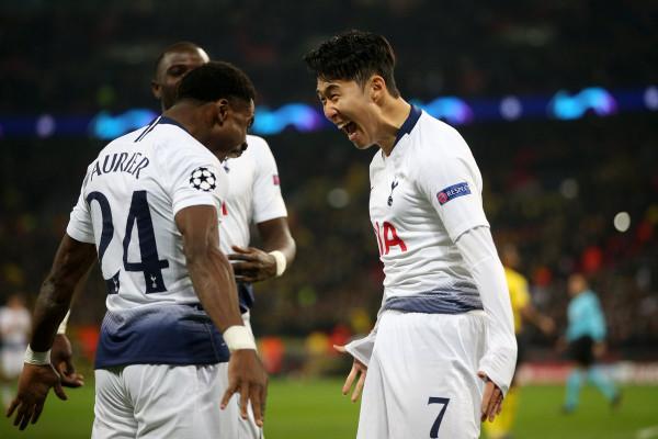 Super Spurs, deklasojnë Dortmundin në 'Wembley'