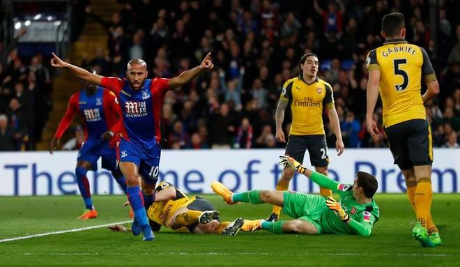 """Arsenali turpërohet në """"Selhurst Park"""""""