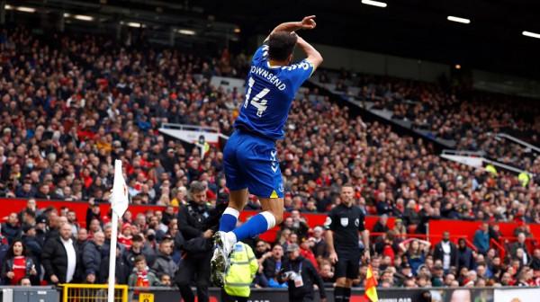 Townsend ia siguron pikën e merituar Evertonit ndaj Unitedit