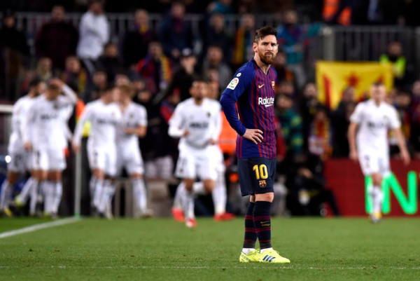 Messi arrin 20-shin, Barcelona gabon