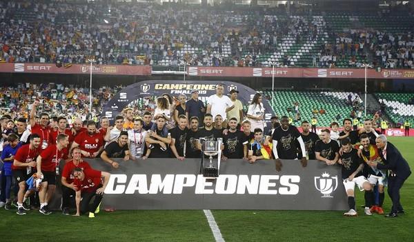 Super Valencia befason! Fiton Kupën e Mbretit