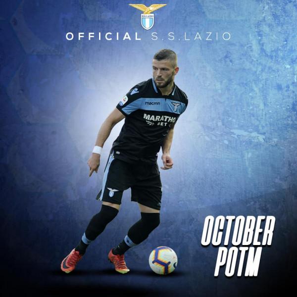 Lojtari i muajit te Lazio: Valon Berisha