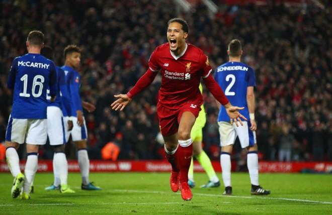 Liverpool vs. City, mungon Van Dijk