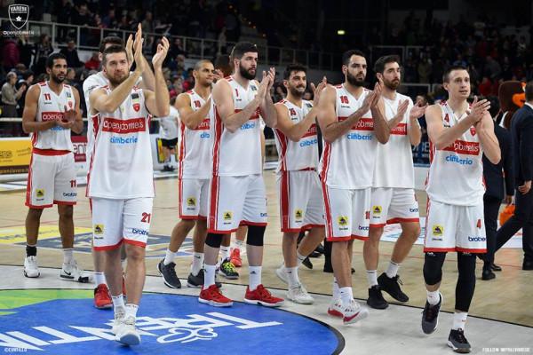 Varese në TOP 3 të favoritëve për FIBA Europe Cup
