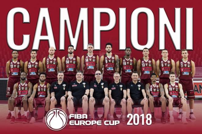 Reyer Venezia triumfon në FIBA Europe Cup