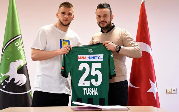 Veton Tusha debuton me gol, i shënon Galatasarayit