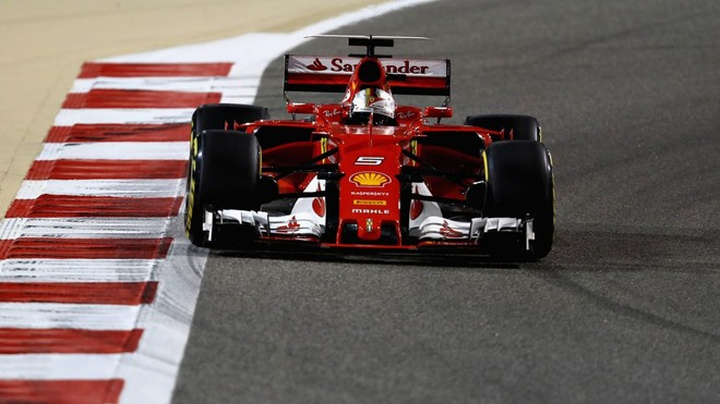 Vettel triumfon në Bahrein