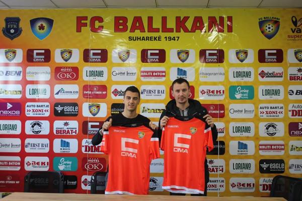 Ballkani përforcohet me dy transferime