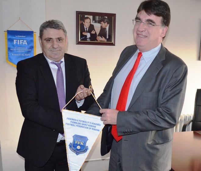 Hapi i parë drejt pranimit në UEFA