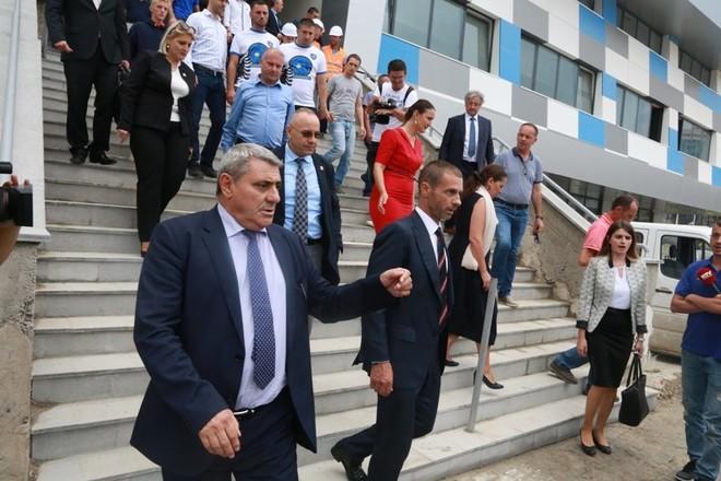 Ceferin i jep shpresë futbollit të Kosovës