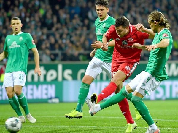 Debakël i Werderit nga Mainz në ndeshje jashtëzakonisht të rëndësishme