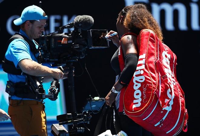 Serena nuk ndalet