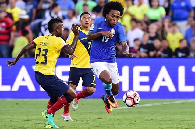 Një Brazil, që s'i bën ballë Ekuadorit