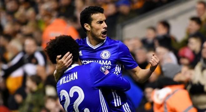 Pedro e Costa shënojnë, Chelsea kualifikohet