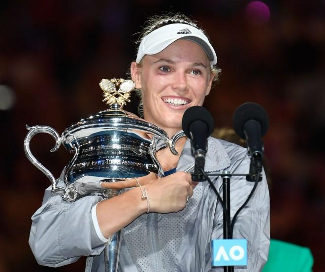 Wozniacki triumfon, i pari Grand Slam në karrierë