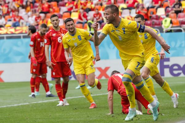 Notat e futbollistëve: Ukraina - Maqedonia Veriore