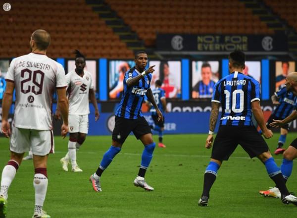 Inter ngritet në vend të dytë me fitore