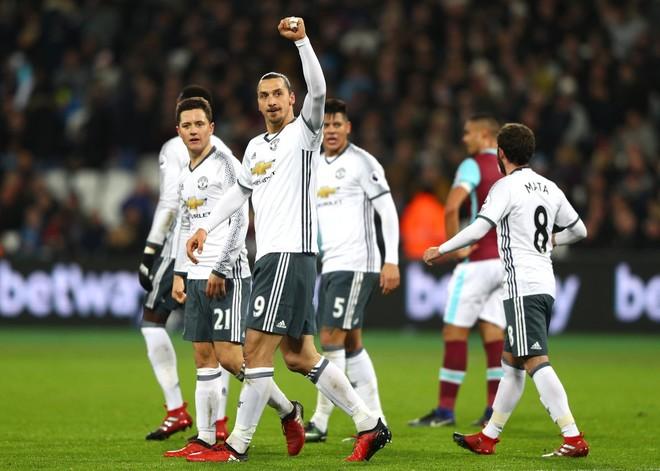 E gjashta radhazi, United rendit fitoret
