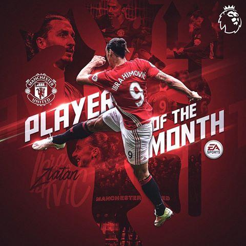 Zlatan, më i miri i muajit